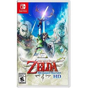 The Legend of Zelda Skyward Sword HD - SWITCH - Novo [EUA]