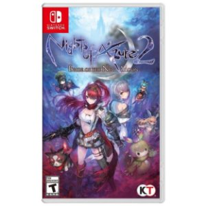 Nights of Azure 2 Bride of the New Moon - SWITCH - Usado [EUA]