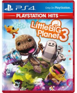 Little Big Planet 3 (PlayStation Hits) - PS4 - Novo