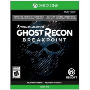 Tom Clancy's Ghost Recon Breakpoint Ultimate Edition Steelbook - XBOX ONE