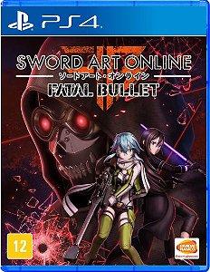Sword Art Online: Fatal Bullet - PS4 - Usado