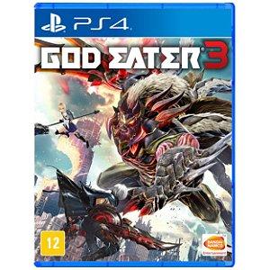 God Eater 3 - PS4 - Usado