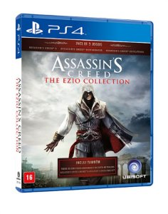 Assassin's Creed the Ezio Collection - PS4 - Novo