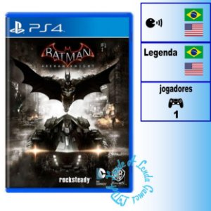 Batman Arkham Knight - PS4 - Novo