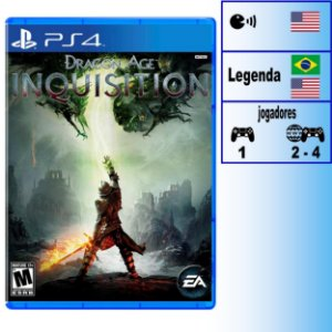 Dragon Age Inquisition - PS4 - Novo