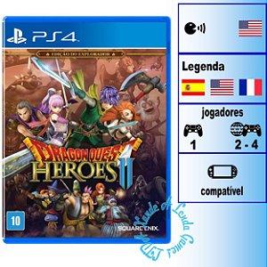 Dragon Quest Heroes 2 Edição de Explorador - PS4 - Novo