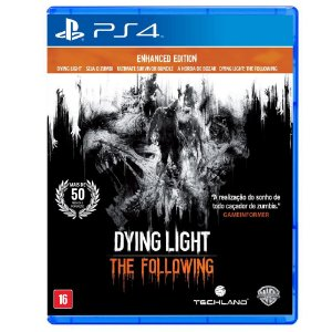 Dying Light the Following Enhanced Edition - PS4 - Novo