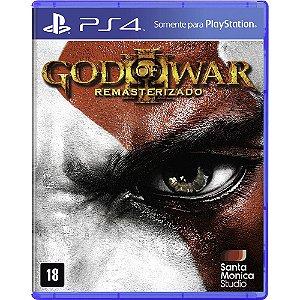 God of War 3 Remasterizado - PS4 - Novo