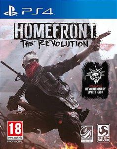Homefront The Revolution - PS4 - Novo