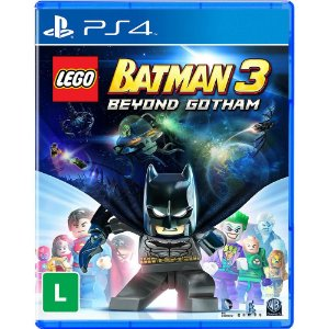 Lego Batman 3 Beyond Gotham - PS4 - Novo