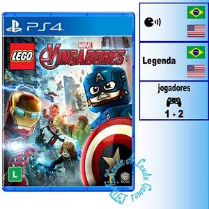 Lego Marvel Vingadores -  PS4 - Novo