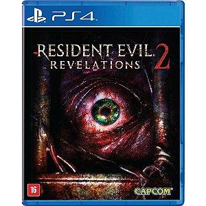 Resident Evil Revelations 2 - PS4  - Novo