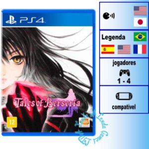 Tales of Berseria - PS4 - Novo