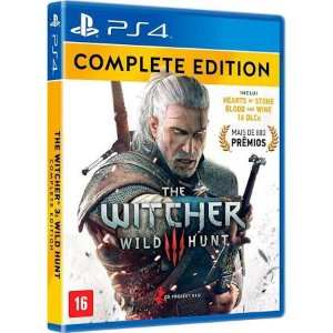 The Witcher 3 Wild Hunt Complete Edition - PS4 - Novo