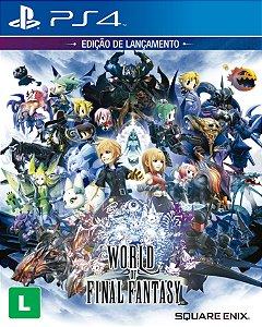 World of Final Fantasy Edição de Lançamento - PS4 - Novo