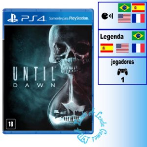 Until Dawn - PS4 - Novo