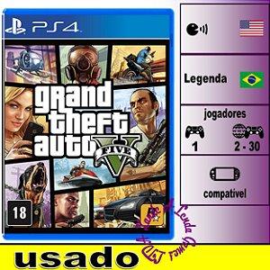 Grand Theft Auto 5 (GTA V) - PS4 - Usado