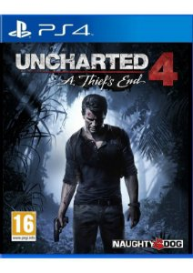 Uncharted 4 A Thief's End - PS4 - Usado
