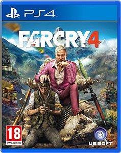 Far Cry 4 - PS4 - Usado