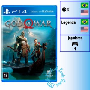 God of War 4 - PS4 - Novo
