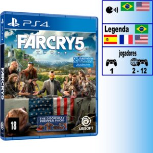 Far Cry 5 - PS4 - Novo