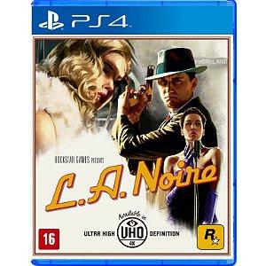 L.A. Noire - PS4 - Novo