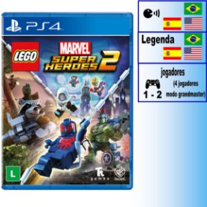 LEGO Marvel Super Heroes 2 - PS4 - Novo