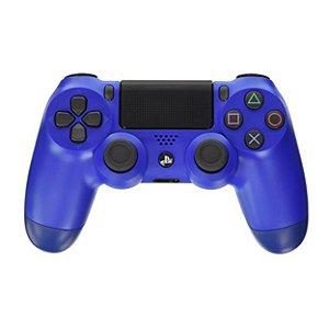 Controle Dualshock 4 - PS4 - Novo - Azul
