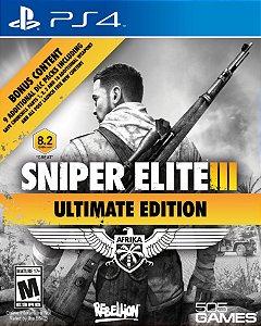 Sniper Elite 3 Ultimate Edition - PS4 - Novo