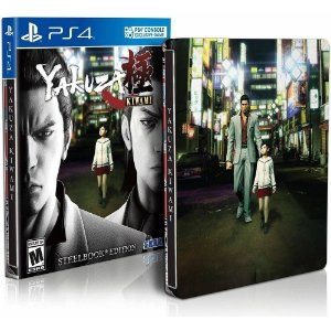Yakuza Kiwami Steelbook Edition - PS4 - Novo