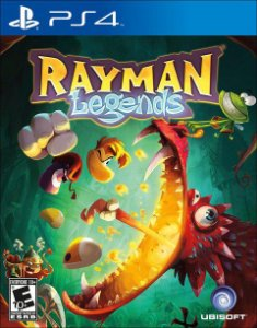 Rayman Legends - PS4 - Novo
