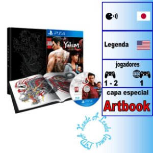 Yakuza 6: The Song of Life Essence of Art Edition - PS4 - Novo