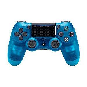 Controle Dualshock 4 - PS4 - Novo - Azul Cristal (Blue Crystal)