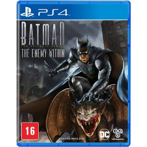 Batman The Enemy Within - PS4 - Novo