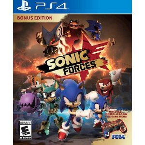 Sonic Forces Bonus Edition - PS4 - Novo