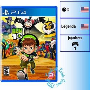 Ben 10 - PS4 - Novo