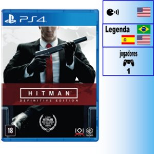 Hitman Definitive Edition - PS4 - Novo