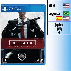 Hitman Definitive Edition - PS4 - Novo