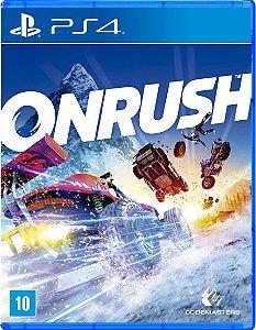 Onrush - PS4 - Novo
