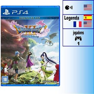 Dragon Quest XI Echoes of an Elusive Age Edição da Luz - PS4 - Novo