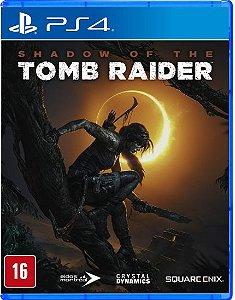 Shadow of the Tomb Raider - PS4 - Novo