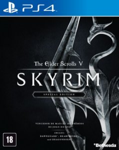 The Elder Scrolls V Skyrim Special Edition - PS4 - Novo