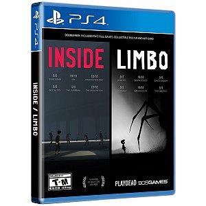 Inside Limbo - PS4 - Novo