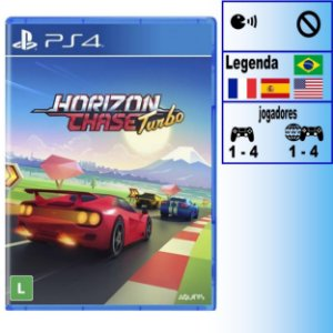 Horizon Chase Turbo - PS4 - Novo