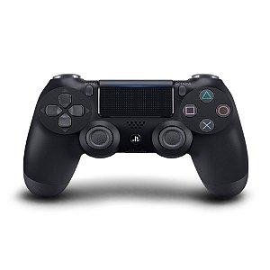 Controle Dualshock 4 - PS4 - Novo - Preto (Blackjet)