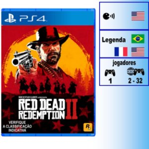 Red Dead Redemption 2 - PS4 - Novo