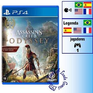 Assassin's Creed Odyssey Edição Limitada - PS4 - Novo