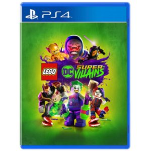 LEGO DC Super-Vilões - PS4 - Novo