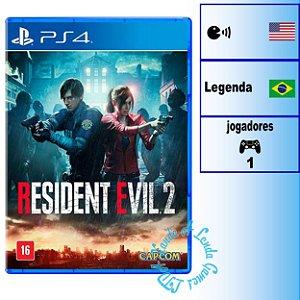 Resident Evil 2 - PS4 - Novo