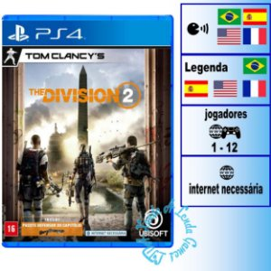 Tom Clancy's The Division 2 - PS4 - Novo